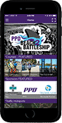 Pro beach battelship is now using pointsmap for Cell Phones, navigation, maps, wayfinding.