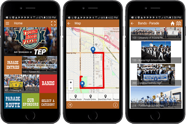 Cell Phone, navigate, PointsMap, Features, map, wayfinding