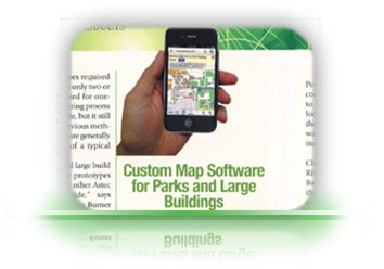 Articles in chattanooga, about, PointsMap, Features, maps, internal wayfinding.