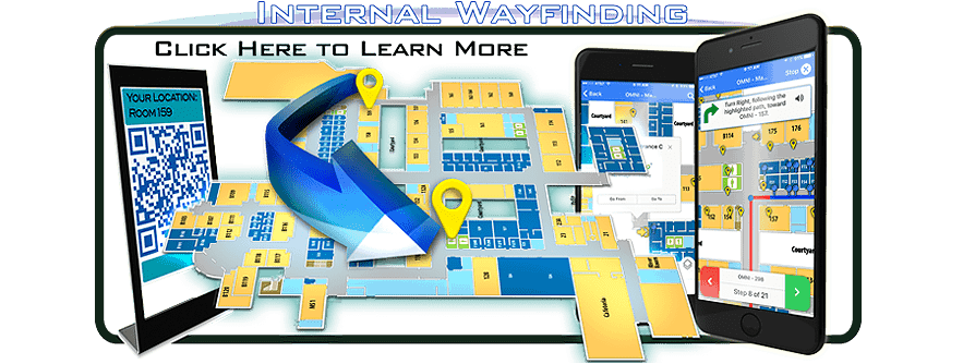 go to internal way finding map school find